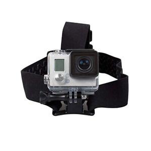 Rollei Kopfband für Actioncam schwarz Headstrap für GoPro Hero Kopfhalterung