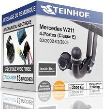 NEUF ATTELAGE rigide MERCEDES-BENZ W211 4-Portes+FAISCEAU SPÉCIFIQUE 13-broches