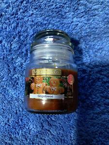 Wickford & Co 5oz Gingerbread mini jar Candle - FREE POSTAGE