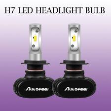 2PCS H7 FOG Lamp LED Headlight Bulb Low Beam Conversion Kit 1800W 300000LM S1-BK