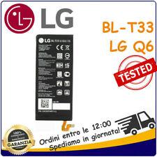 BATTERIA BLT33 BL-T33 RICAMBIO Per LG Q6 Q6A Q6+ PLUS RICAMBIO NUOVA