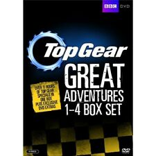 Top Gear Great Adventures 1+2+3+4 Box Set 1-4 Region 4 8xDVD