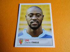 N°101 ITANDJE RC LENS BOLLAERT RCL PANINI FOOTBALL FOOT 2007 2006-2007