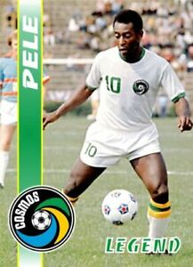2019 Euroset Soccer #2 Pele New York Cosmos Legend