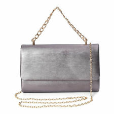 Joe Browns Womens Silver Floral Clutch Bag