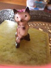 Vintage? Hagen Renaker Papa Fox Figurine Miniature Darker Brown Color Chest Tuft