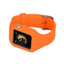 Remplacement Bracelet En Silicone Pour iPhone Montre Intelligent 38mm Orange