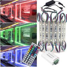Multicolor LED Module Light DC 12V 5050 SMD 3 LED Waterproof Lighting Decor Lamp