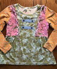 Matilda Jane Cottonwood Blossoms Tee Secret Fields Girls Top Shirt Size 6