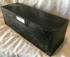 Exact Piece Exotic Wood Gabon Ebony Lumber 4x4x12 Peppermills Guitar Headstock