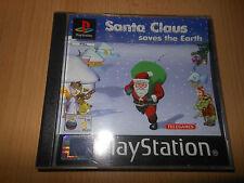 Santa Claus guarda la Tierra-Sony PS1 COLECCIONISTAS DE MENTA Versión PAL