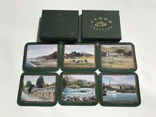 Set Of 6 Jason Coasters Uniquely New Zealand Leading By Design Drink Bar