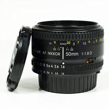 Nikon 50mm f/1.8 D Auto Focus Nikkor Lens