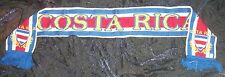 SCHAL COSTA RICA FANSCHAL FUßBALL WM FAN SCHAL FAHNE FLAGGE FLAG SCARF BANDERA