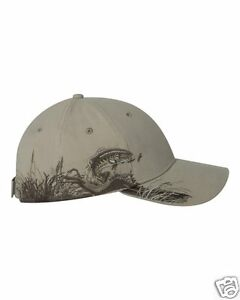 DRI DUCK Wildlife Series Cap Sand Trout Fish Baseball Hat 3256 NEW