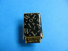 """"""" William Lawson """"  Whisky / Whiskey pin badge."""