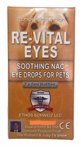 Ethos Dog Eye Drops Natural Lubricating Solution for Cherry Eye & Conjunctivitis