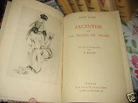 Liane LAuré - JACINTHE - Heliogravures par Beloti sur vergé 1934 Érotisme
