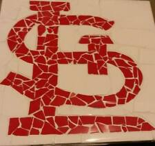 St. Louis Cardinal Mosaic Tile Table