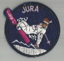 ECUSSON A COUDRE JURA 39 STATION SKI SURF VERT FLUO 7.5 CM