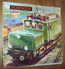 MÄRKLIN katalog 1964/65 D DM mit Gutschein gelocht