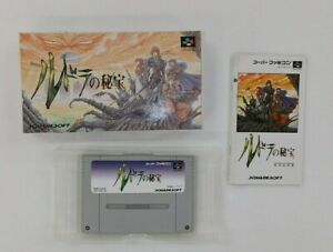 RUDRA NO HIHOU  with BOX  Nintendo Super Famicom japanese SFC  Japan USED