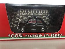 BRUMM 1:43 Fiat 500L Open 1968-1972 Marrone R464-11