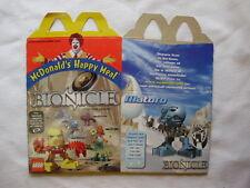 McDonalds Lego Bionicle/Diva Starz Happy Meal Box Unused-Scrapbooking, Crafts