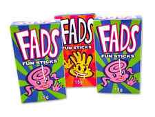 Bulk Lot 24 x Fads Fun Sticks 15g Candy Lolly Stick Buffet Sweets Party Favors