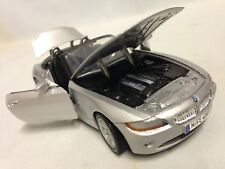 Bmw Z4 Collectibles, 7 inch Diecast, 1:24 Scale By MotorMax Toys, Silver