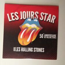 CD PROMO CARREFOUR - LES JOURS STAR 50e ANNIVERSAIRE DES ROLLING STONES