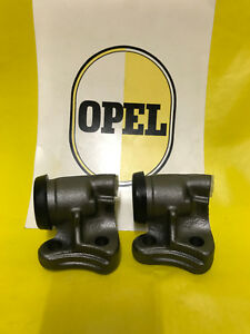 New 2x Brake Wheel Cylinder Front Left Opel OLYMPIA Rekord P1/P2+ Rekord A