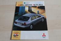 124295) Mitsubishi - Modellprogramm inkl. 3000 GT - Prospekt 09/1996