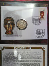 Numisbrief 10 DM 1990 Friedrich Barbarossa