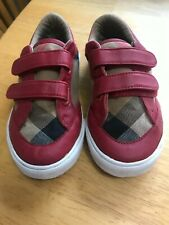 Boy's BURBERRY sneakers, size 27