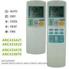 A/C Air Conditioner Remote For DAIKIN ARC433A1 ARC433A21 ARC433A70 ARC433B70