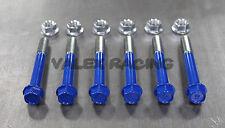 96-00 Honda Civic Rear Lower Control Arm Bolt Kit - Blue EK