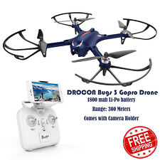 DROCON Bugs 3 LED Motor With Camera holder Quadcopter 500m Drone TS03