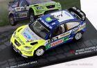 1/43 FORD FOCUS RS WRC GRONHOLM RALLY NEW ZEALAND 2007 IXO EAGLEMOSS DIECAST