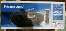 Panasonic - Rx-D55Gc-K - Cd Tape Radio Boombox 110-220 Volt