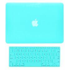 """Unik Case-2 in 1 Matte Hard Case & Silicone Skin for Macbook Pro 13"""" -Hot Blue"""