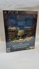 WARHAMMER 40,000 Space Marine (Collector's Edition) PS3 NEW US Version!