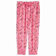NWT Barbie Licensed Girls Hearts Glitter Harem Pants Size 6 or Size 8