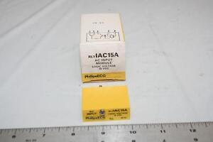 ECG RLYIAC15A AC Input Module Logic Voltage 15VDC I/O Module RIM-IAC15A New