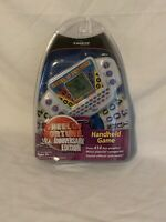 Tiger Wheel Of Fortune 20th Anniversary Edition Handheld Electronic Game 2002