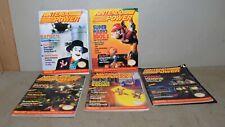 5 Nintendo Power magazine collectible 1990 Batman Super Mario III video mag lot