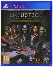 PS4 Spiel Injustice - Götter unter uns - Ultimate Edition NEUWARE