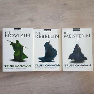 Trudi Canavan / 3 Bücher / Die Gilde der schwarzen Magier ***gut***