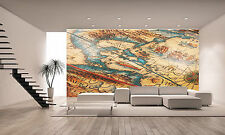 ANTIQUE MAP OF AMERICA Wall Mural Photo Wallpaper GIANT DECOR Paper Poster