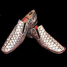Mark Nason Made In Italy Exotic Anteater Snakeskin Print Square Toe Loafer 11 D